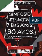 """Actas del Simposio Internacional """"90 años de los 7 Ensayos"""""""