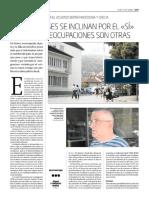 Los albaneses se inclinan por el sí pero sus preocupaciones son otras