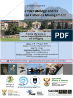 Marine parasite diversity in southern Africa and its application in fisheries management