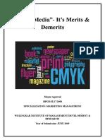 Print Media- its Merits & Demerits.doc