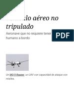 Vehículo aéreo no tripulado - Wikipedia, la enciclopedia libre.pdf