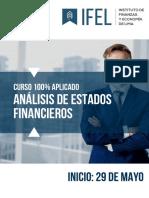 Brochure Análisis de Estados Financieros