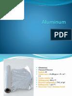 Aluminum Manufacturing Report.pptx