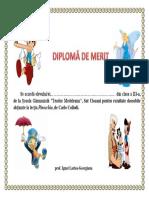 Diploma Pinnochio