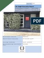 Internship Report !