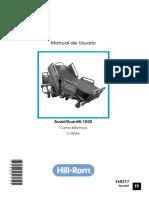 2395A - Catre Quirúrgico Eléctrico - Manual de Usuario
