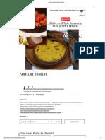 Receta Pastel de Choclo _ Gourmet
