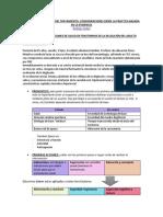 3. PLANIFICACIÓN DEL TRATAMIENTO- CONSIDERACIONES DESDE LA PRACTICA BASADA EN LA EVIDENCIA