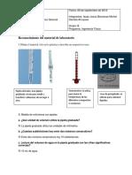 Reconocimiento Del Material de Laboratorio Informe Dos