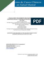 Evaluacion y Tratamiento Del Traumatismo Craneoencefalico - Estudio Neuropsicológico de Un Caso
