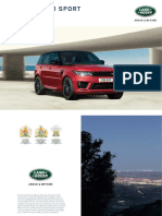 Range Rover Sport Brochure 1L4941910000BINEN01P Tcm297 666806