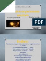 A Mente e Os Processos Mentais (1)
