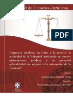 Aspectos Jurídicos en Torno a La Muerte