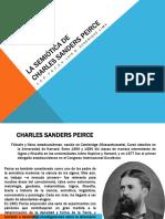 La Semiótica de Charles Sanders Peirce