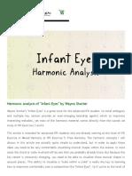Harmonic analysis of %22Infant Eyes%22 by Wayne Shorter | Improvise for Real.pdf