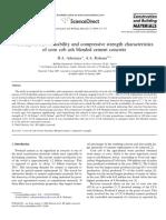 Construction and Building Materials Volume 23 Issue 1 2009 [Doi 10.1016_j.conbuildmat.2007.12.004] D.a. Adesanya; A.a. Raheem -- A Study of the Workability and Compressive Strength Characteristics o