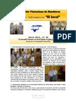 JACAL - Comunidad Viatoriana de Jutiapa (Honduras) - Nº 30 - Marzo 2019