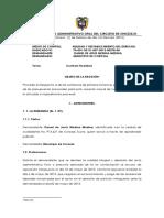 Contrato Realidad Juzgado Septimo Admtivo Oral de Sincelejo