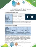 Guía de Actividades y Rúbrica de Evaluación - Etapa 3 - Creacion de Hipótesis y Métodos Para Su Validacion (3) Toxicologia
