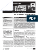Archivos e Interoperabilidad