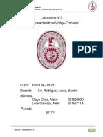Informe Final Fisica 3 Laboratorio 3