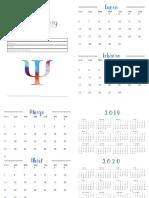 Agenda - Calendario 2019 (1)
