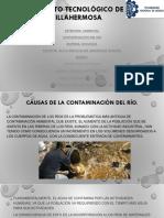 Contaminación de Rio