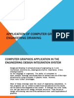 Application of Computer Graphics in Engineering Drawing
