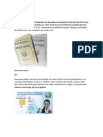 Documento de identificación de Guatemala
