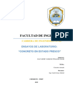 Salvador Ensayo de Laboratorio