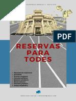 Reservas Para Todes - Informe v - Mayo 2019 Prensa