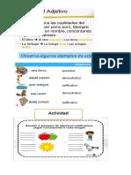 Adjetivos y Sustantivos