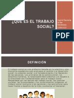 Que Es El Trabajo Social Daniela