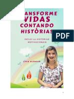 E-BOOK Transforme Vidas Contando Historias - Livia Alencar