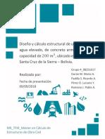 Diseño y Cálculo Estructural de Un Depósito de Agua Elevado