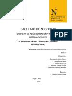 Informe de Pago y Cobro Sin Conclusiones