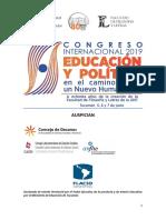 SEGUNDA CIRCULAR. Congreso Internacional Educación y Política- Tucumán 2019