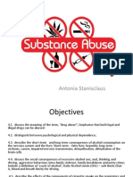 Substance Use and Abuse for Students 2018-2019