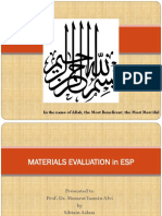 Material Evaluation Ppt Final - Copy