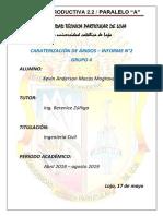 Densidad Árido Fino-grueso GRUPO 4 KEVIN MACAS