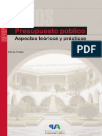 El Presupuesto Público. Aspectos Teórico-prácticos