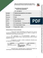 Tribunal de Contas do Estado de SP - Municipio de Ilhabela [2018]