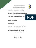 Desarrollo Sustentable-unidad 6