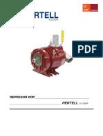 HERTELL Manual de Usuario Bombas de Vacio Kdp