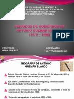 Periodos de Gobierno de Antonio Guzmán Blanco
