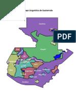 Mapa Linguistica de Guatemala