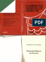 Elementos Basicos de Derecho-Alfredo de La Cruz Gamboa