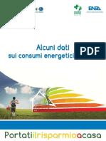 ENEA_dati Sui Consumi Energetici in Italia