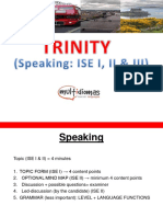 Speaking ISE