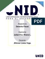 T1. Derecho Fiscal
